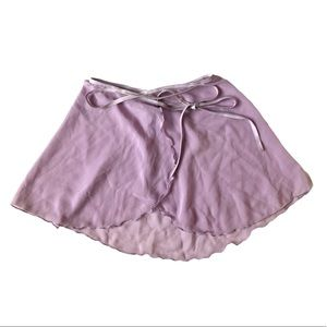 Body Wrappers Lilac Ballet Sheer Chiffon Skirt